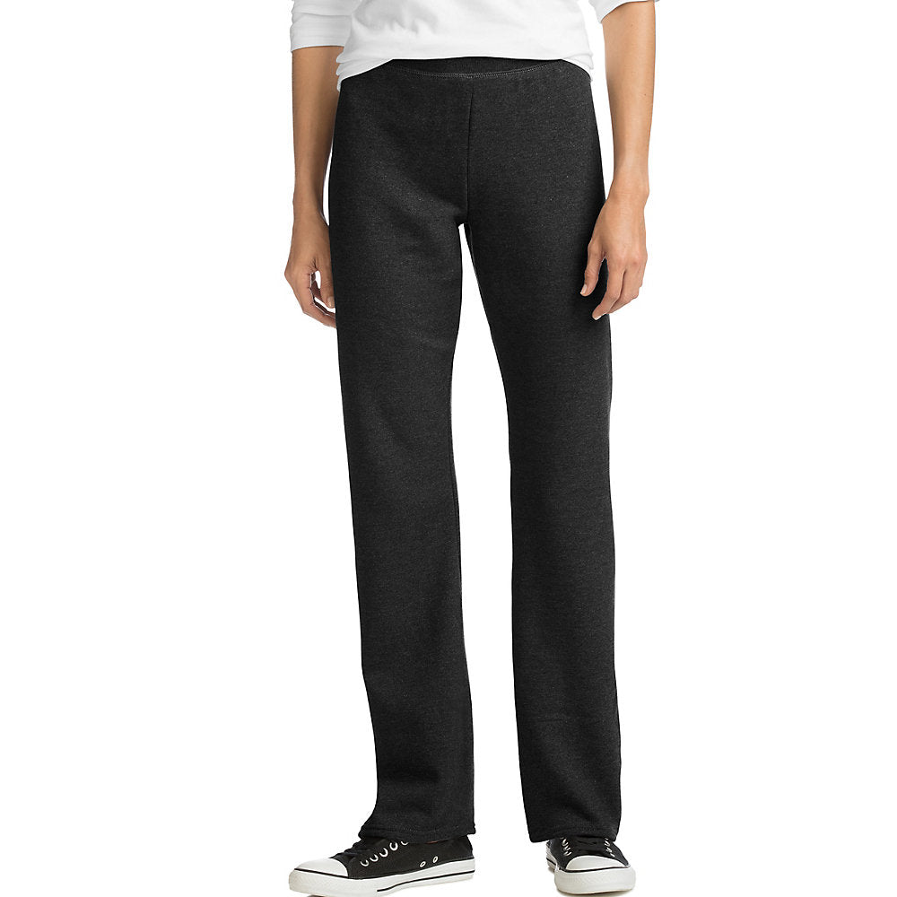Hanes ComfortSoft EcoSmart Women's Open Leg Fleece Sweatpants - O4629