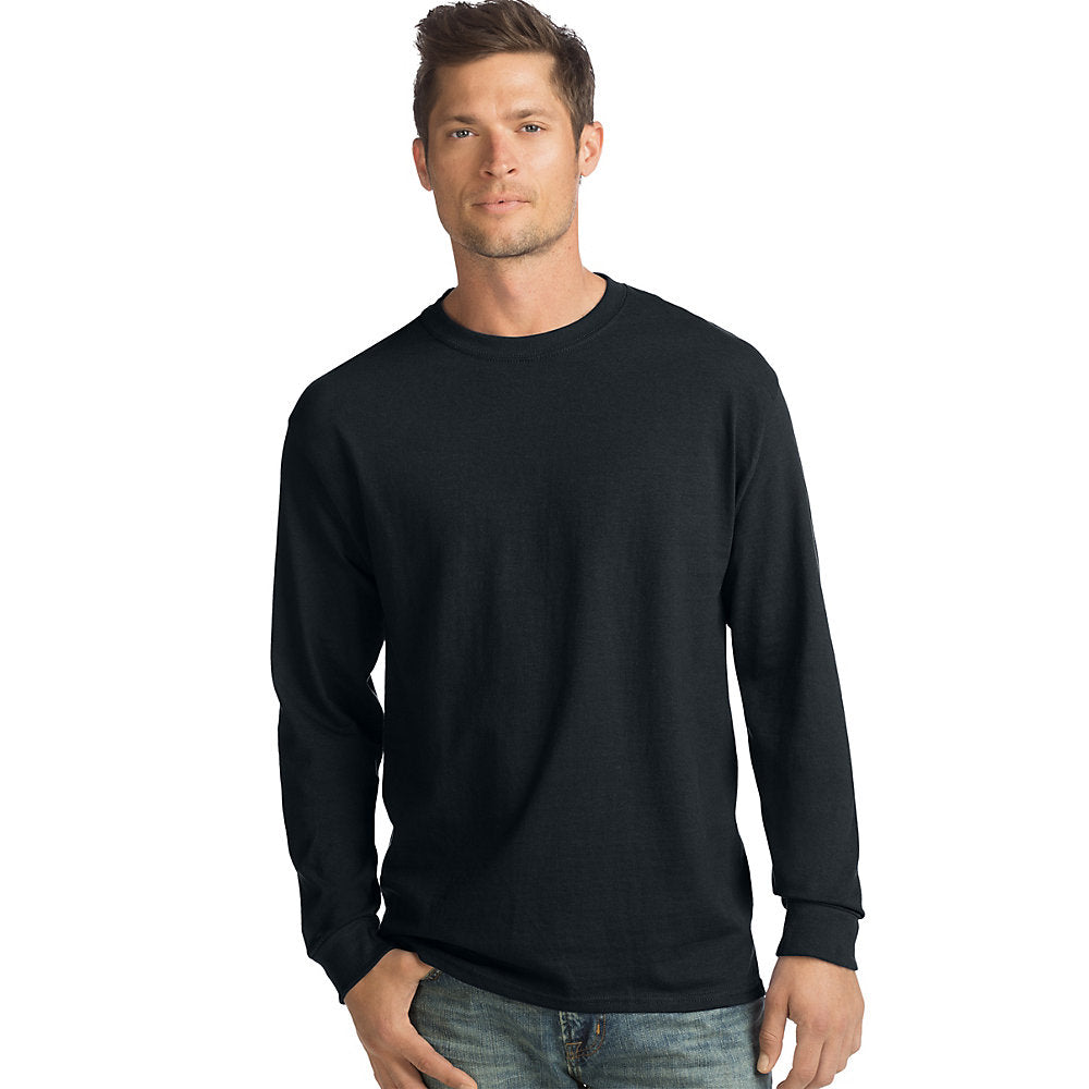 Hanes ComfortSoft Men's Long-Sleeve T-Shirt 4-Pack - O5286