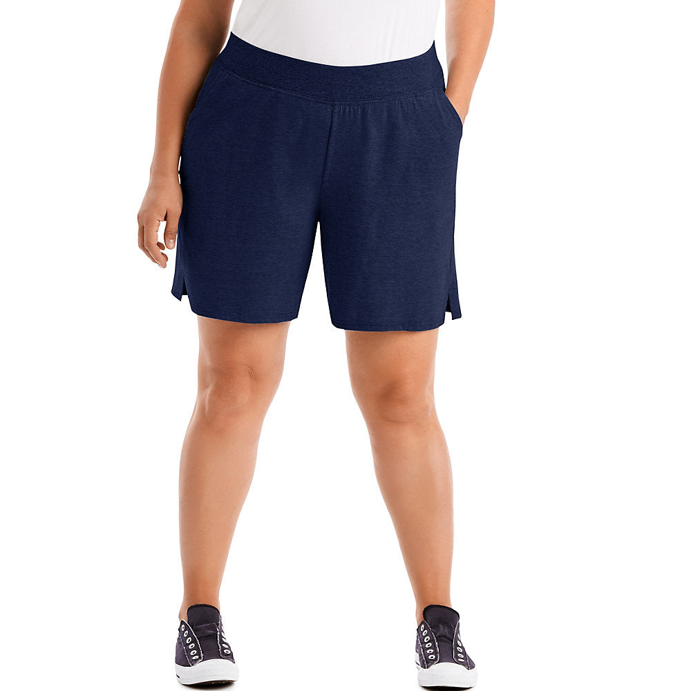 Just My Size Cotton Jersey Pull-On Women's Shorts - OJ206