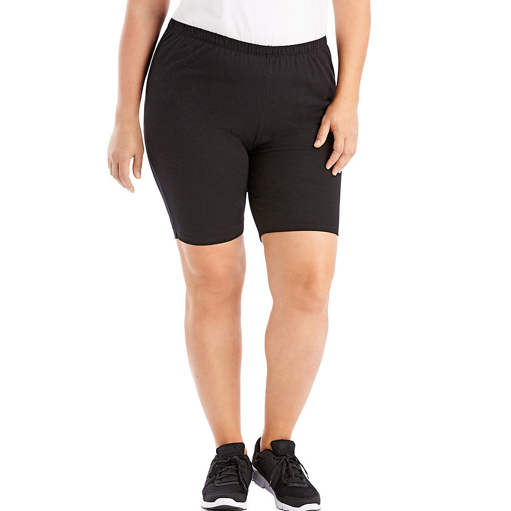 Just My Size Stretch Cotton Jersey Women's Bike Shorts - OJ251