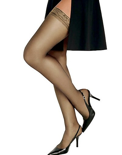 Hanes Silk Reflections Silky Sheer Thigh High - 720