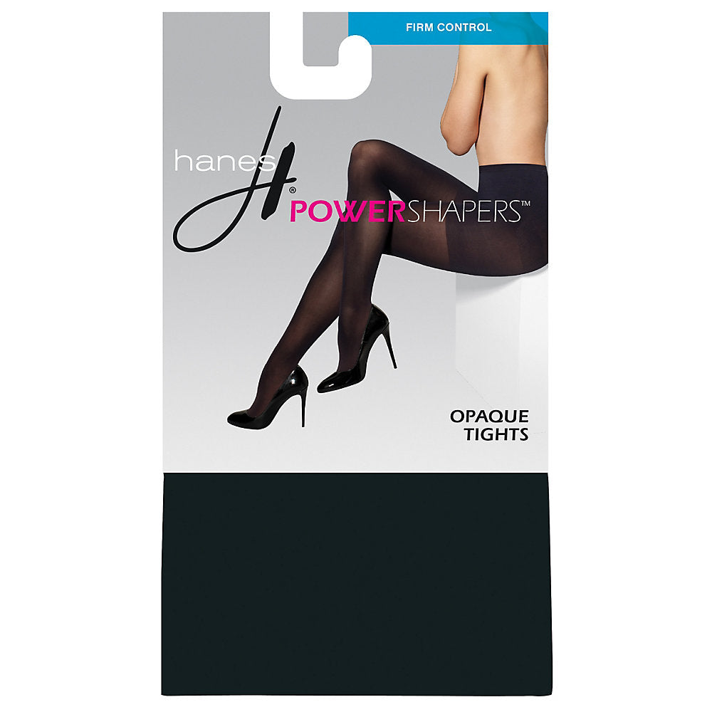 Hanes Women's Firm Control Power Shapers 153; Opaque Tights - 0B990