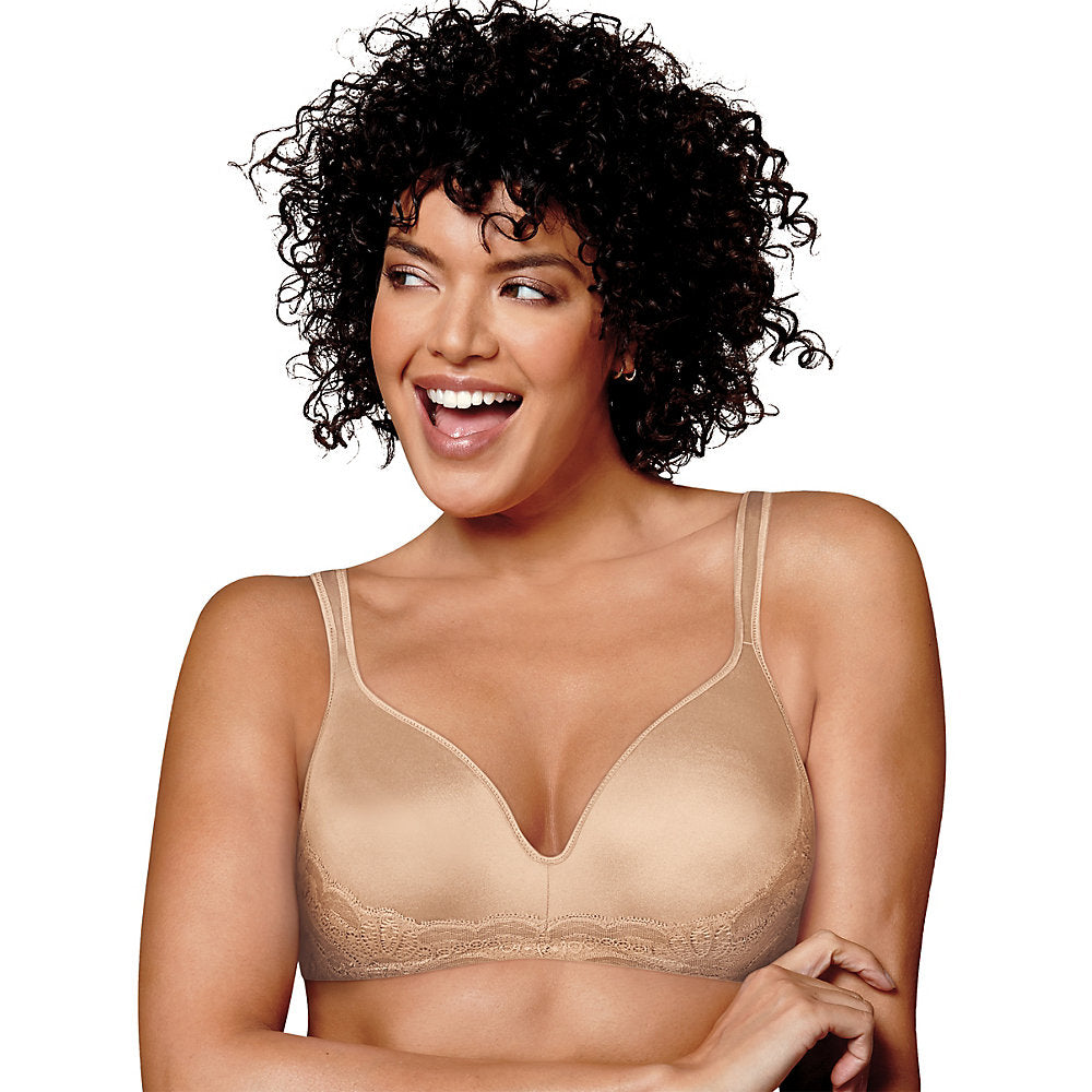 Playtex Love My Curves Side Smoothing Wirefree Bra - US0002