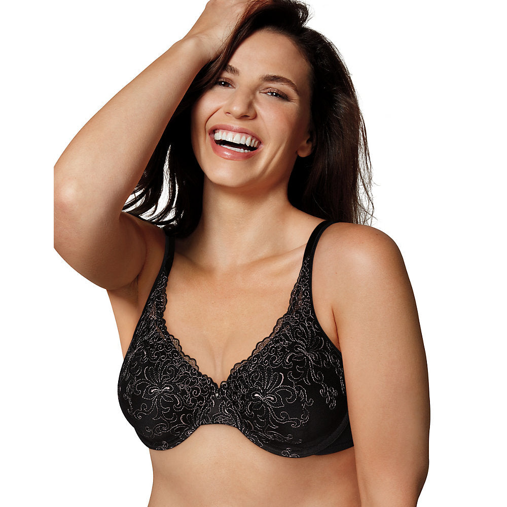 Playtex Love My Curves Beautiful Lift & Support Lace Underwire Bra - 4513H