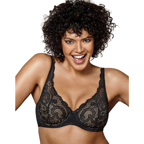 Playtex US4514 Love My Curves Beautiful Lift Lightly Lined Underwire Bra