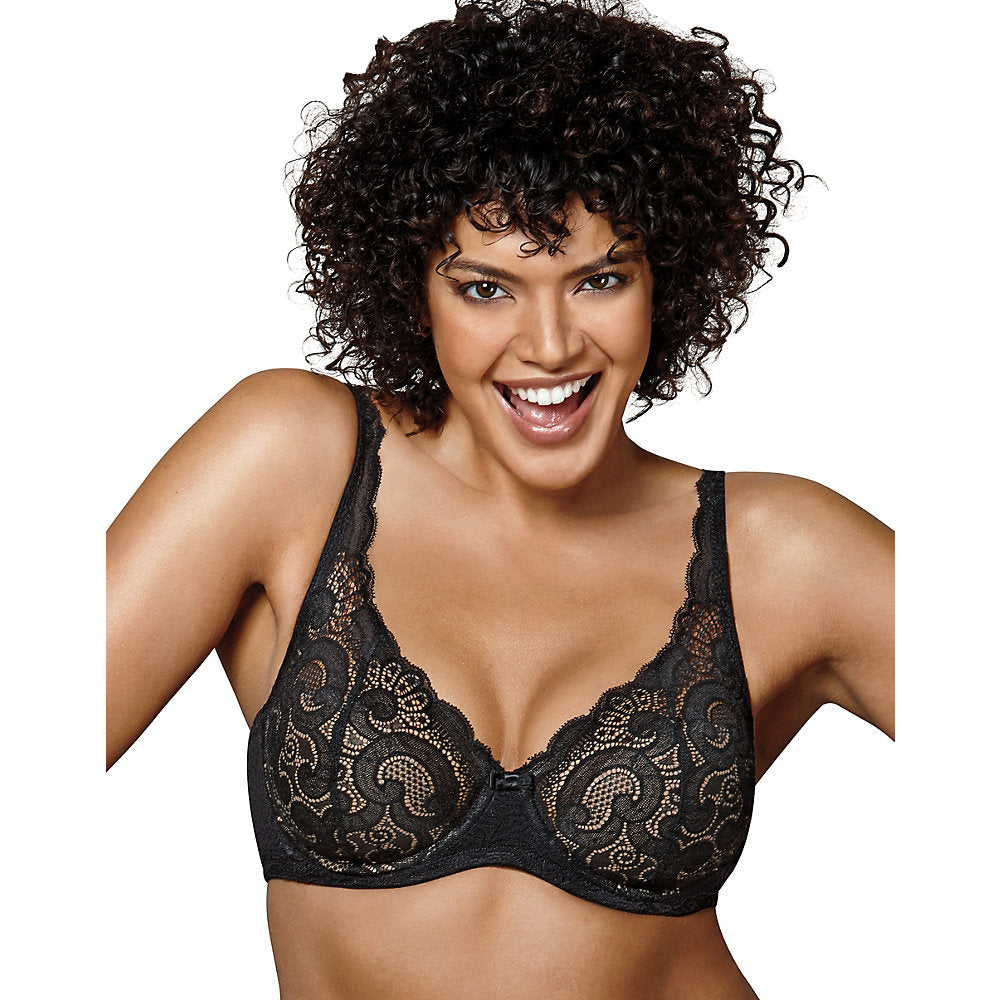 Playtex Love My Curves Beautiful Lift Lightly Lined Underwire Bra - US4514