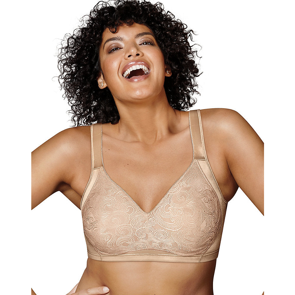 Playtex 18 Hour Side & Back Smoothing Wirefree Bra - 4912B
