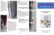 Load image into Gallery viewer, Door Jamb Repair Kit | Jamb Patch Instructions |  Rusted Door Frame Repair | Door Innovation