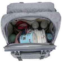 Load image into Gallery viewer, MomBond 2-in-1 USB Diaper Bag