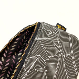 Black Banana Leaf Hip Pack