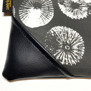 Large 'Opihi Zipper Clutch