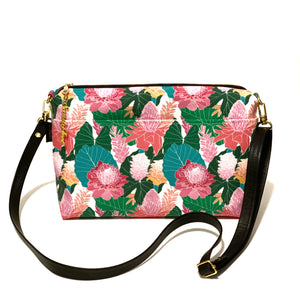 Spring Protea Large Crossbody