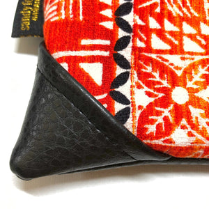 Mini Vintage Hawaii Sunset Kapa Zipper Clutch