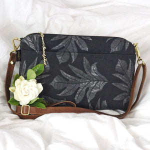 Black 'Ulu (Breadfruit) Large Crossbody