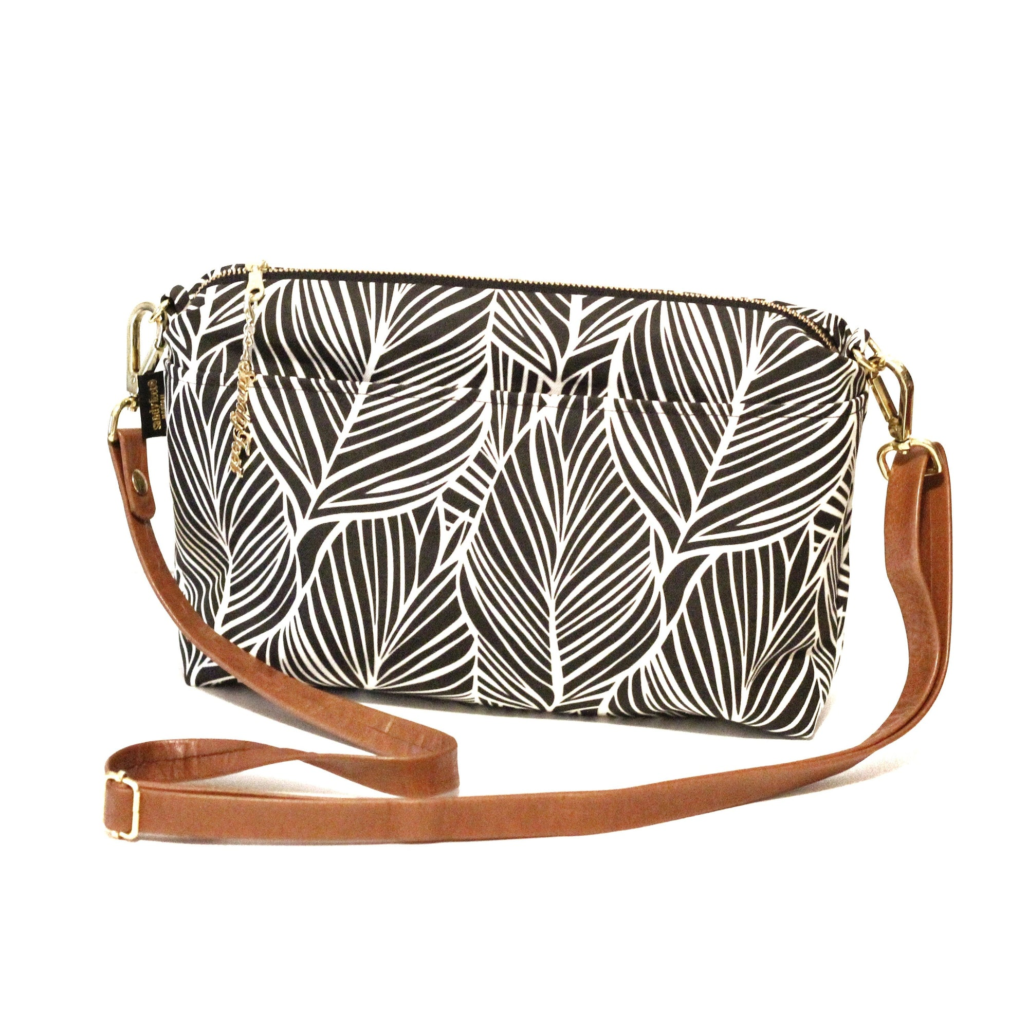 Banana Palm Large Crossbody