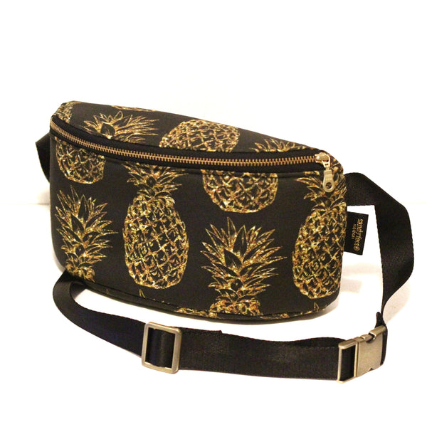 Glittery Pineapple Hip Pack