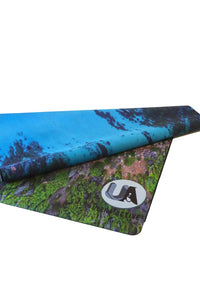 Reef Travel Yoga Mat 1mm Microfiber