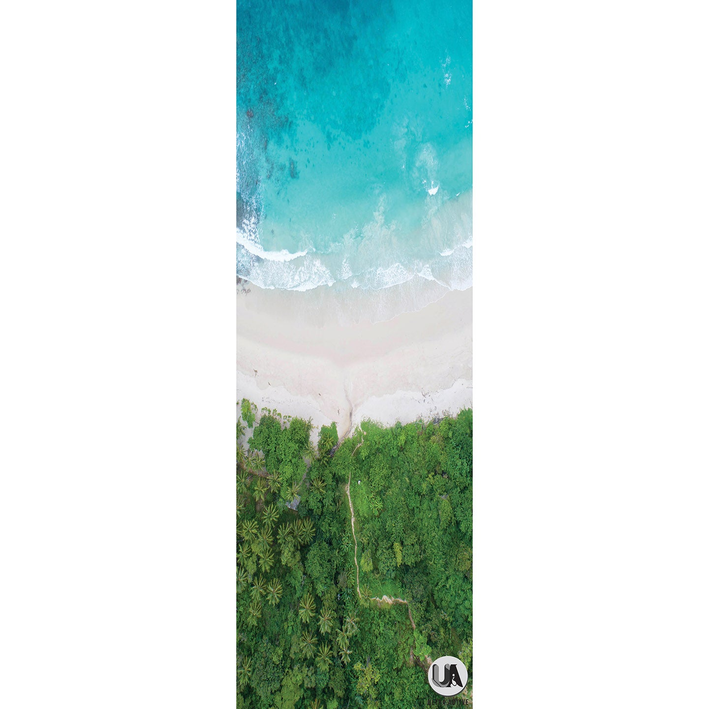 Sand and Beach Travel Yoga Mat 1mm Microfiber