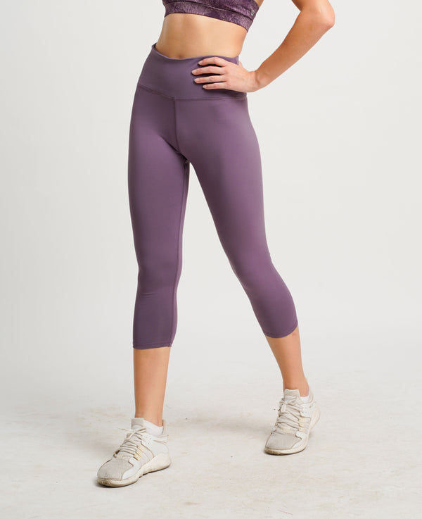 Belle Seamless 3/4 Tights Purple