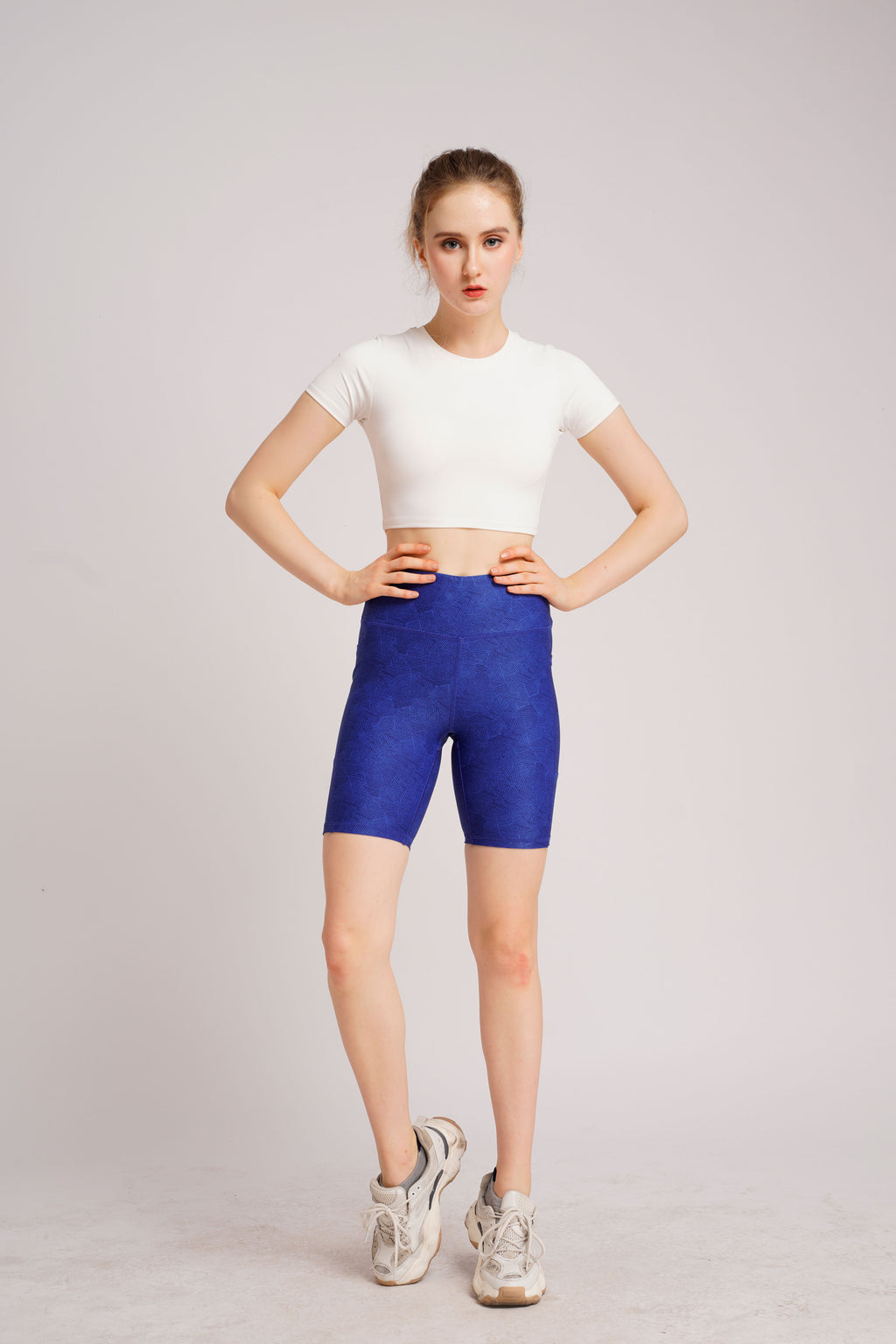 Warrior Duo Side Pocket Shorts Star Blue