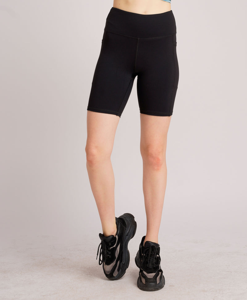 Warrior Duo Side Pocket Shorts Black