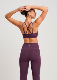 Freely Move Sport Bra Sangria