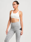 Freely Move Sport Bra White