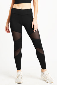 Citta High Waist Full Length Tight Black