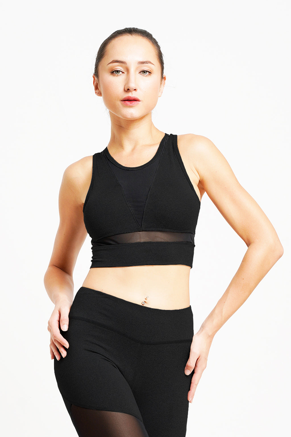 Citta Croptop Black