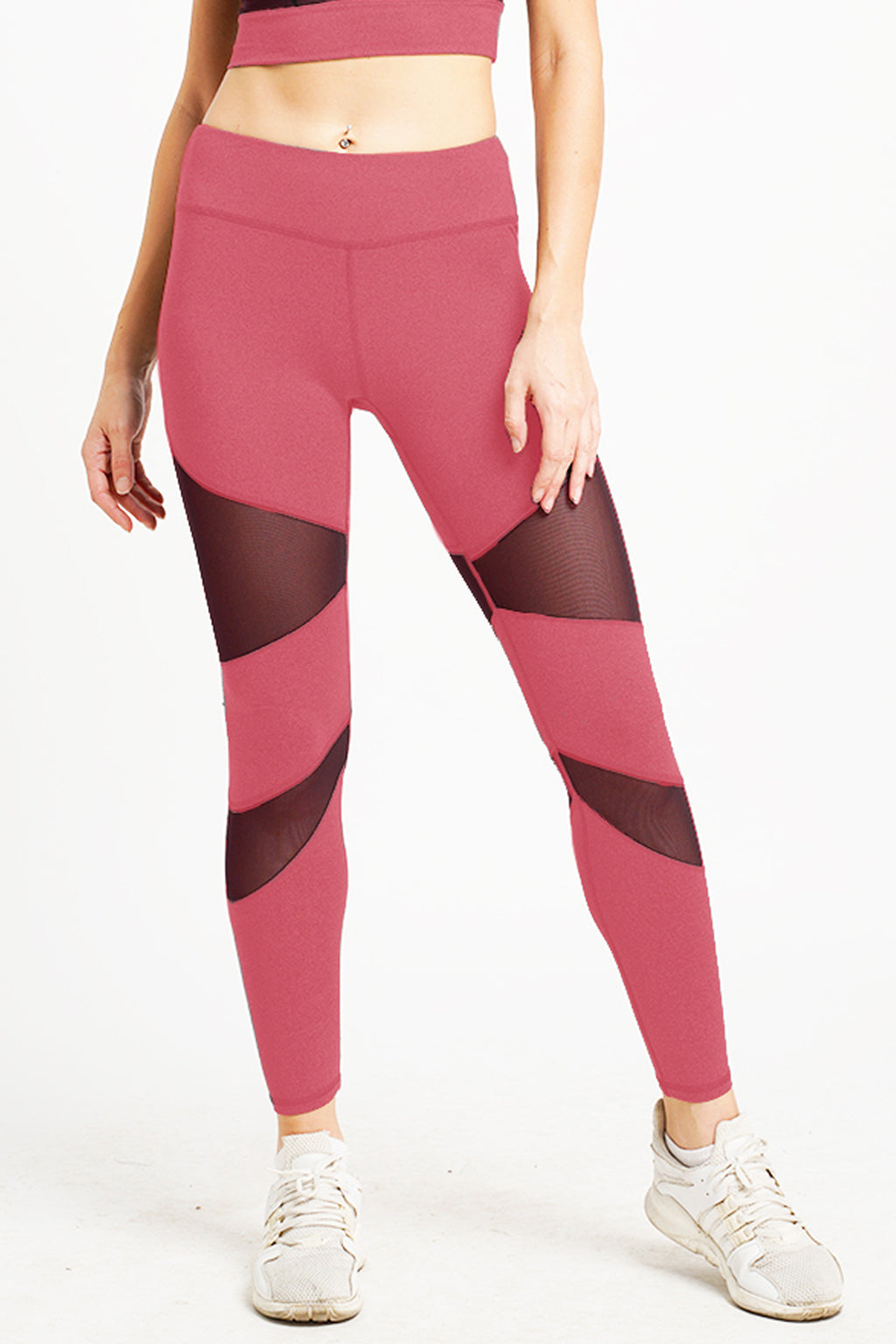 Citta High Waist Full Length Tight Plumful Pink