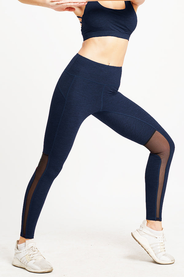 Hamsa Hight Waist 7/8 Tight Navy