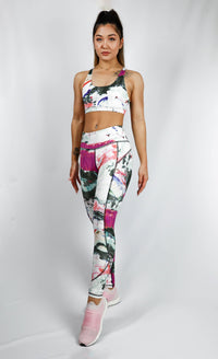 Turiya High Waist Tight 7/8 Abstract