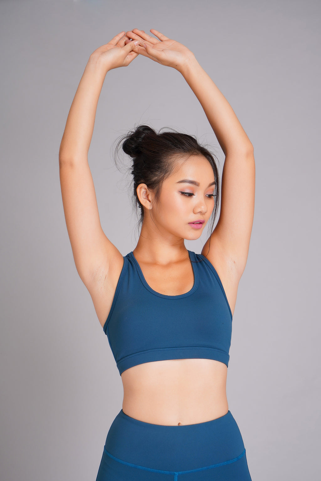 Pyramid Sports Bra Blue