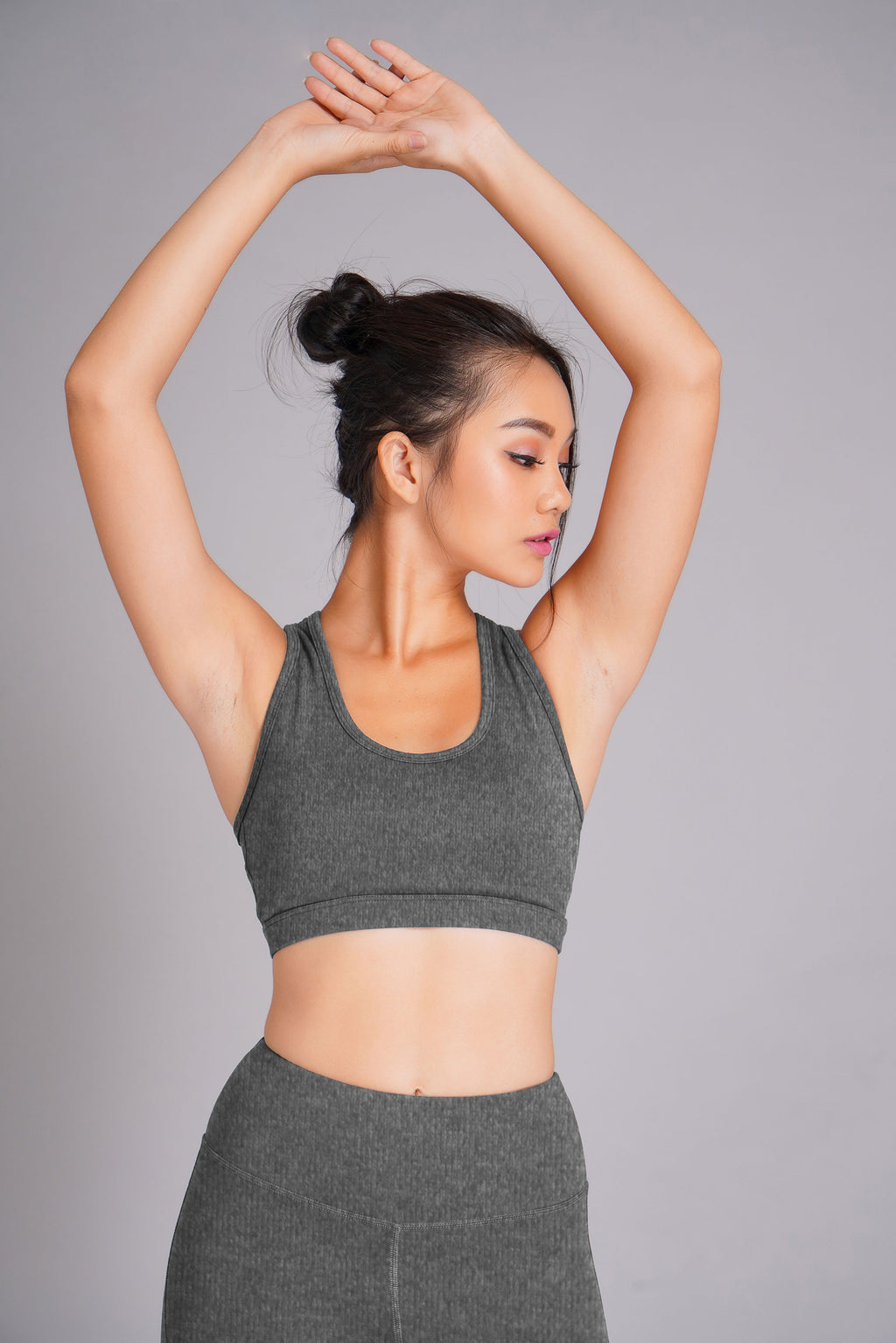 Pyramid Sports Bra Grey