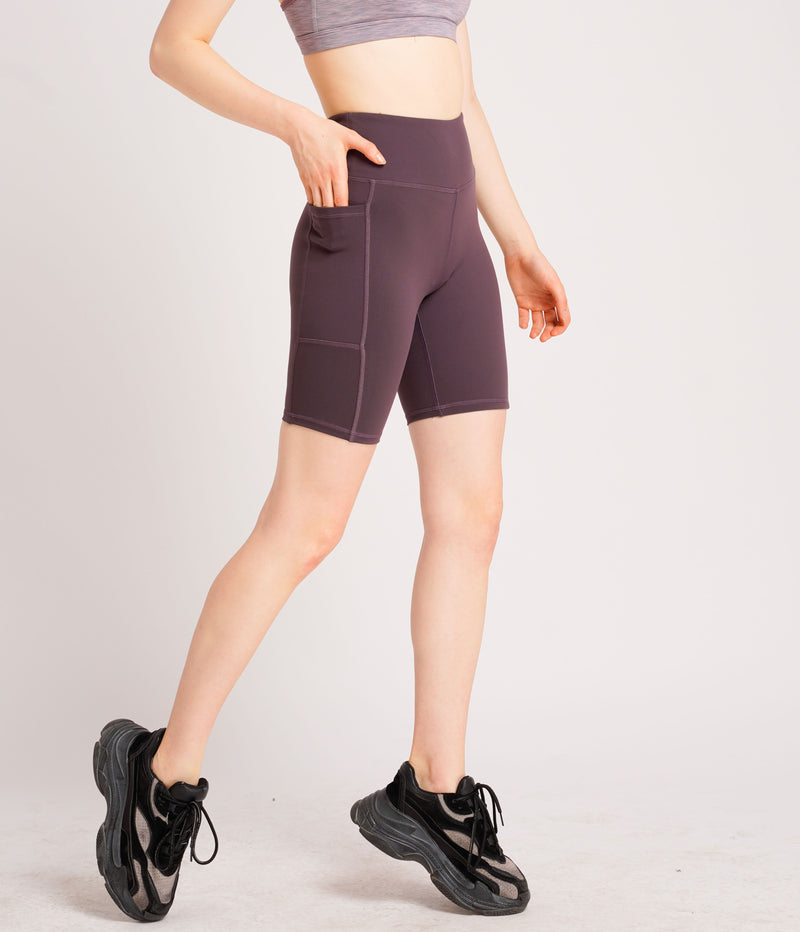 Warrior Duo Side Pocket Shorts Purple