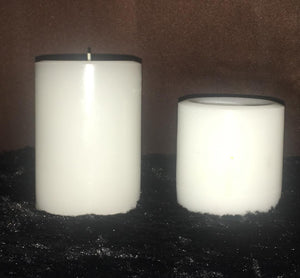 Paraffin Pillar Candles