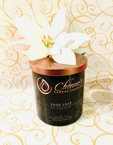 Sage Leaf Luxury Soy Candle