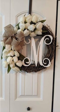 Tulip Vine Wreath