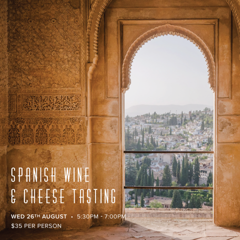 Spanish Wine & Cheese Tasting- Sold Out