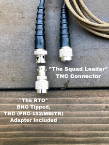 """The Squad Leader"" Wearable Antenna"