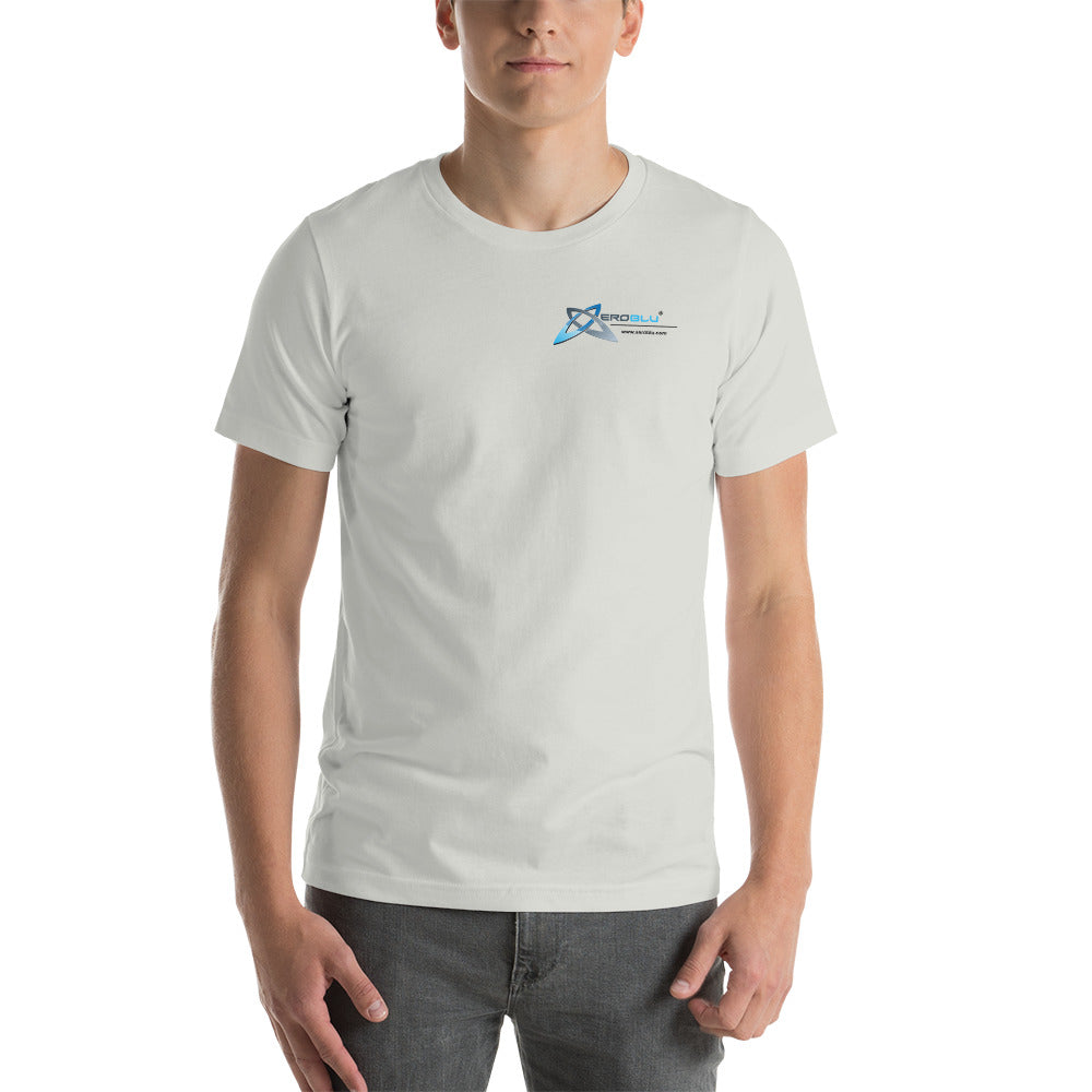 XeroBlu Short-Sleeve Unisex T-Shirt White