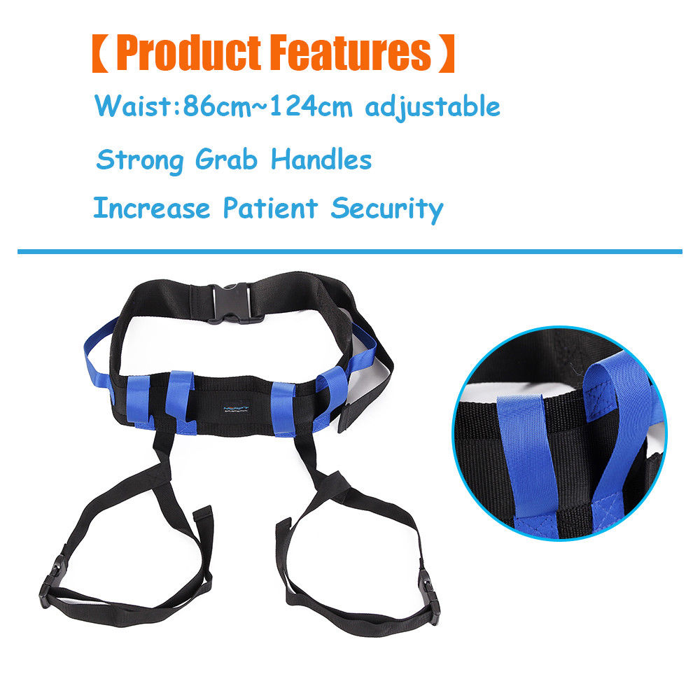 Gait Transfer Belt With Leg Loops Medical Lift Sling