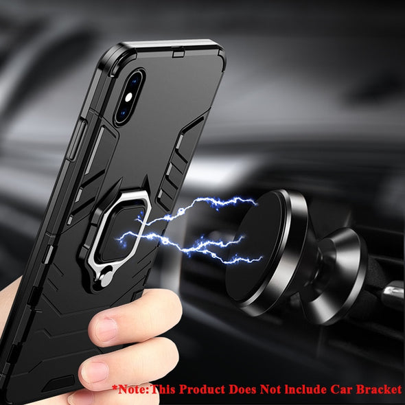 Magnetic Phone Holder case with rotate ring