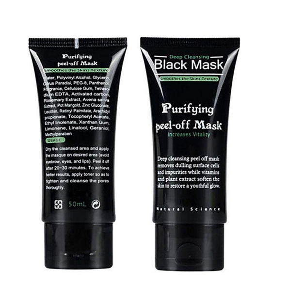 NEW Deep Cleansing Black Purifying Peel-off Mask