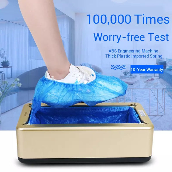 Automatic Shoe Cover Dispenser with 100 FREE Covers