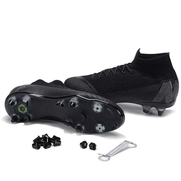 Men Superfly Football Boots Soccer Shoes FG SG Original