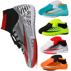 Voetbalshirts Kids Boy Girls Outdoor Soccer Cleats Shoes