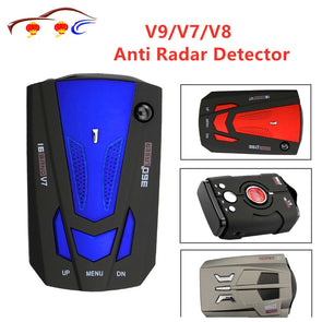 LED Radar Detector - Car Speed Testing System