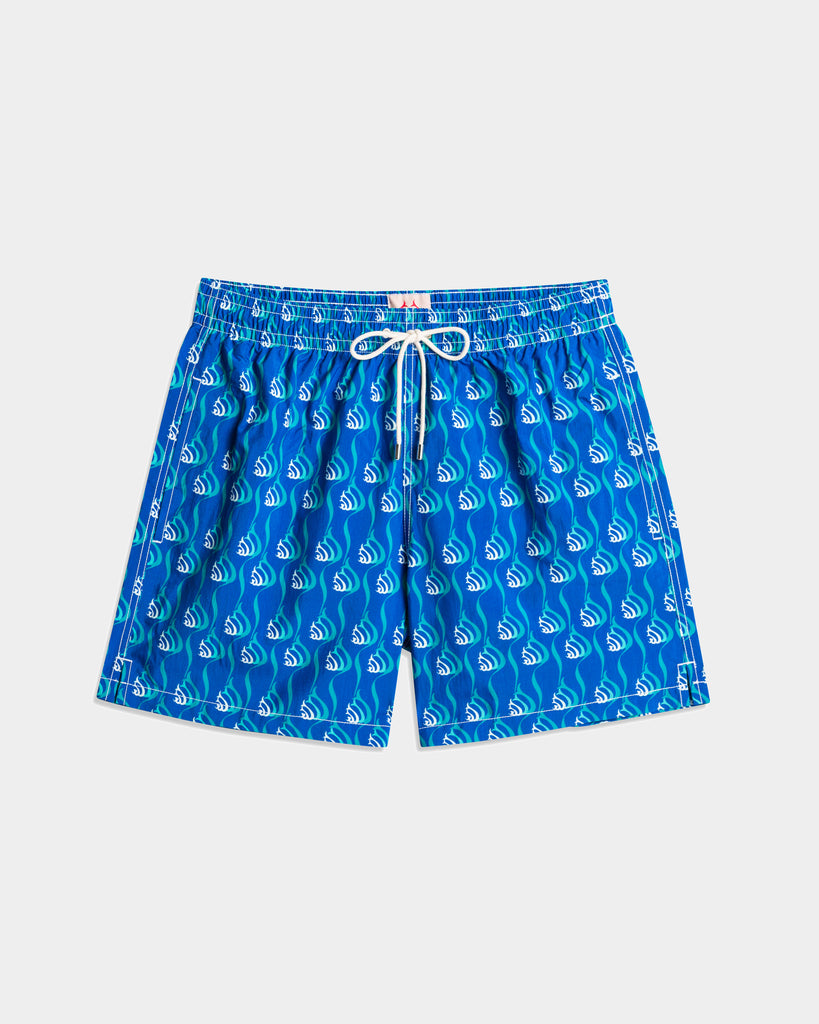 Men'S Swimming Trunk - Snails