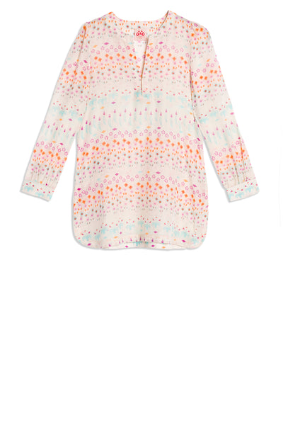 Kate Little Flowers Tunic Ecru